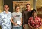 Dr. Adam West, Jannes Landschoff(MSc), Robert Skelton (PhD), and Prof. Anusuya Chinsamy-Turan